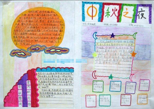 四年级中秋节手抄报图片(3)