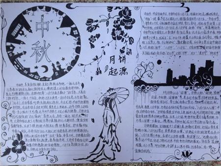 中秋佳节手抄报图片(2)图片