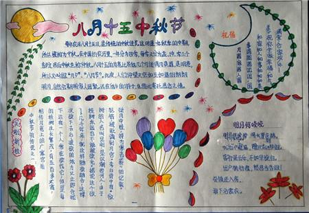 中秋节的由来手抄报图片(2)