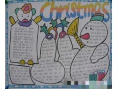圣诞节手抄报版面设计
