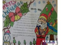 六年级圣诞节手抄报