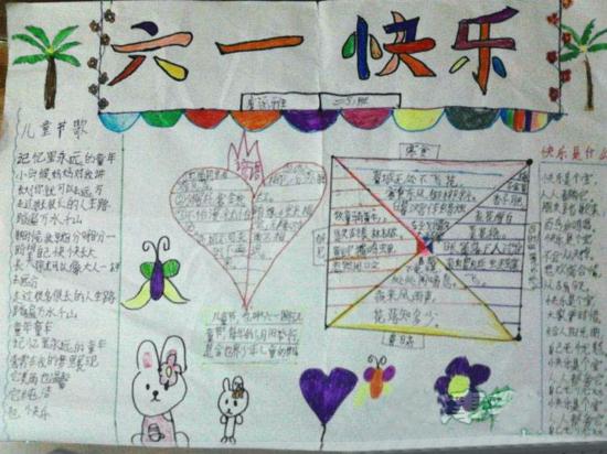 小学生儿童节手抄报图片大全(3)