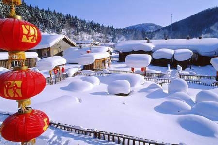 游中国雪乡作文500字