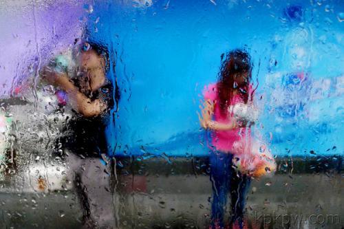 描写雨景作文600字