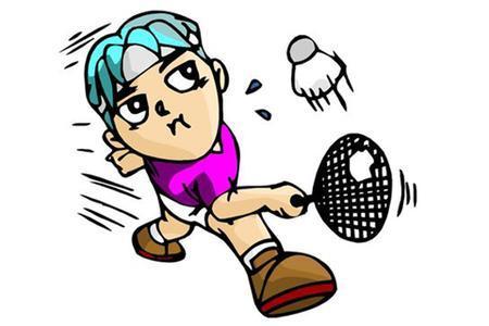 羽毛球比赛300字