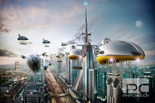 未来的世界400字