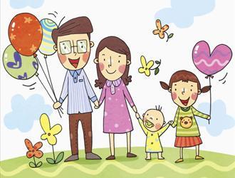 我的幸福家庭作文_介绍家庭成员的作文400字_写人作文