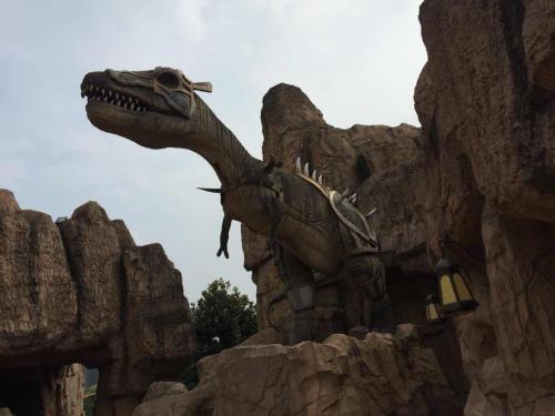 恐龙园游记作文600字