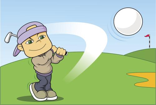 第一次打高尔夫作文600字